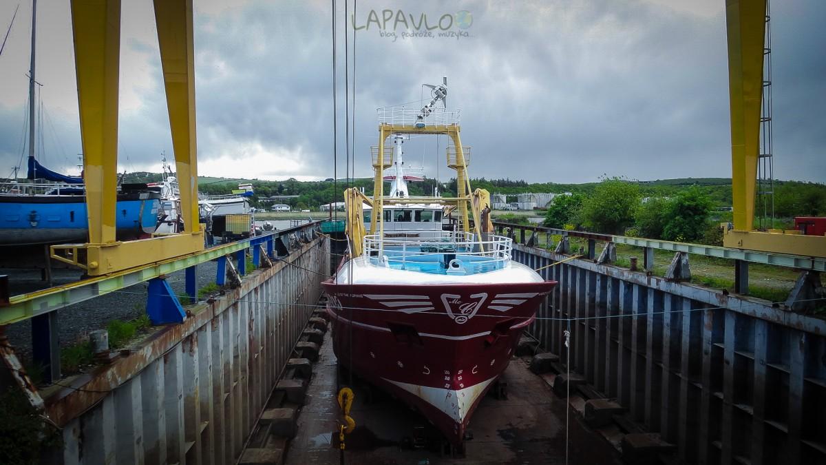 Statek w porcie - New Ross