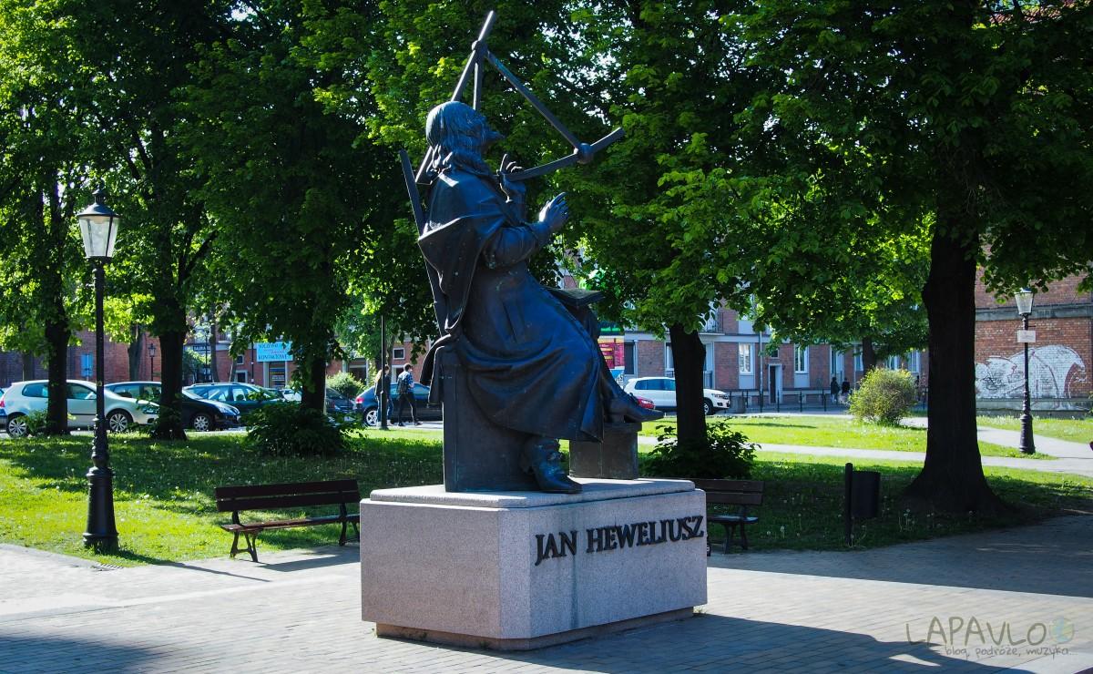 Pomnik Jana Heweliusza - Gdańsk