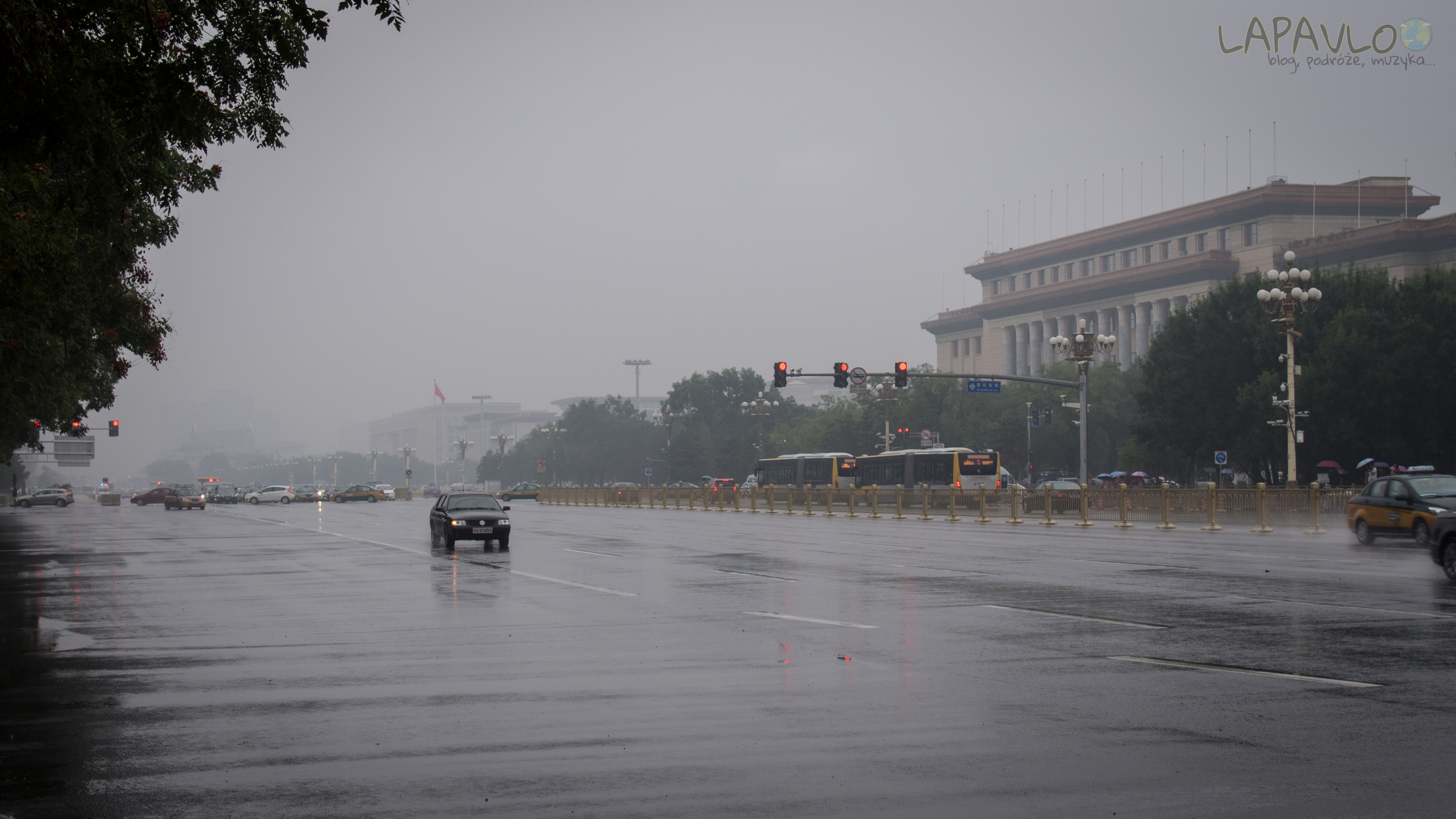 Plac Tian'anmen i Park Zhongshan (Pekin)