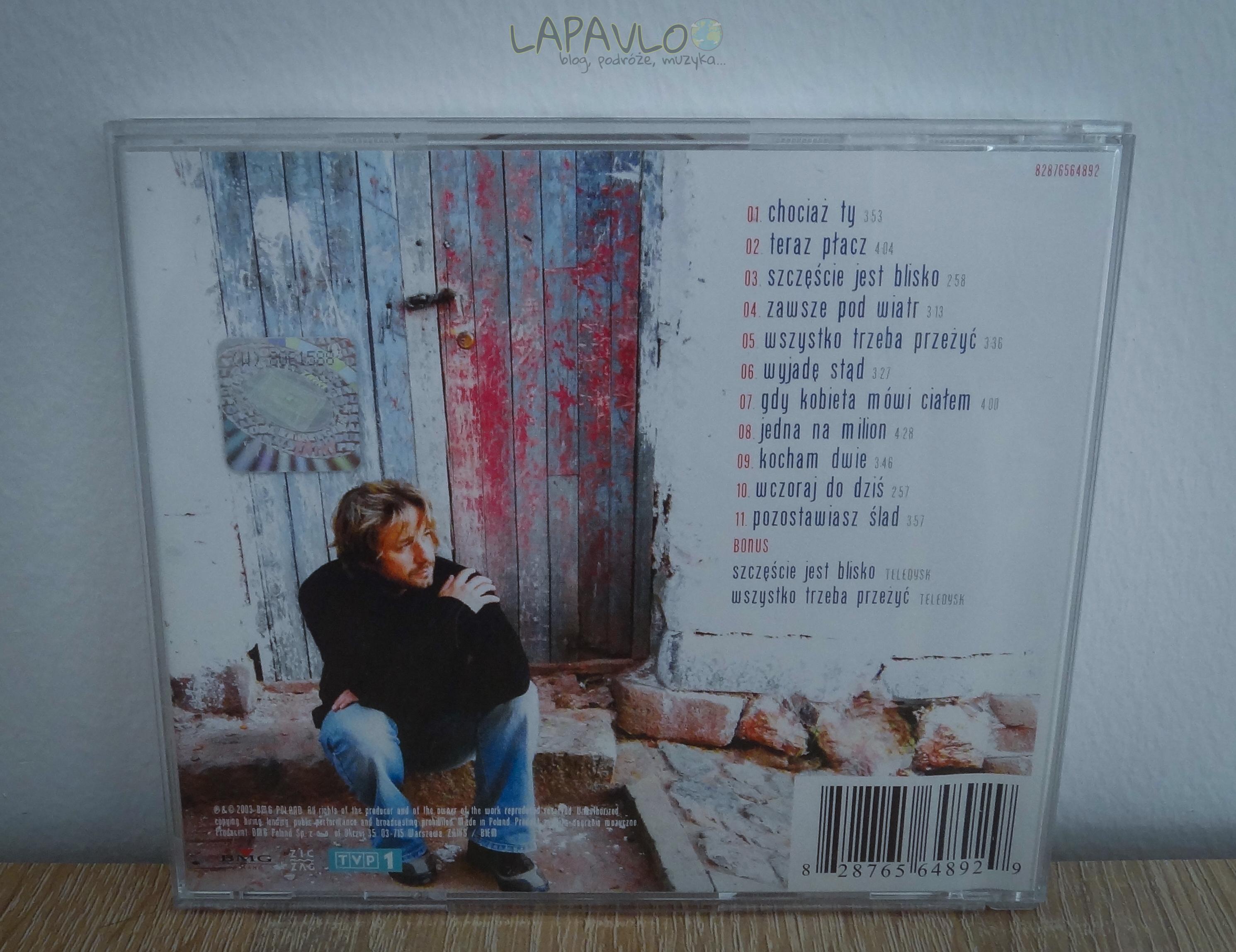 Andrzej Piaseczny CD 2003