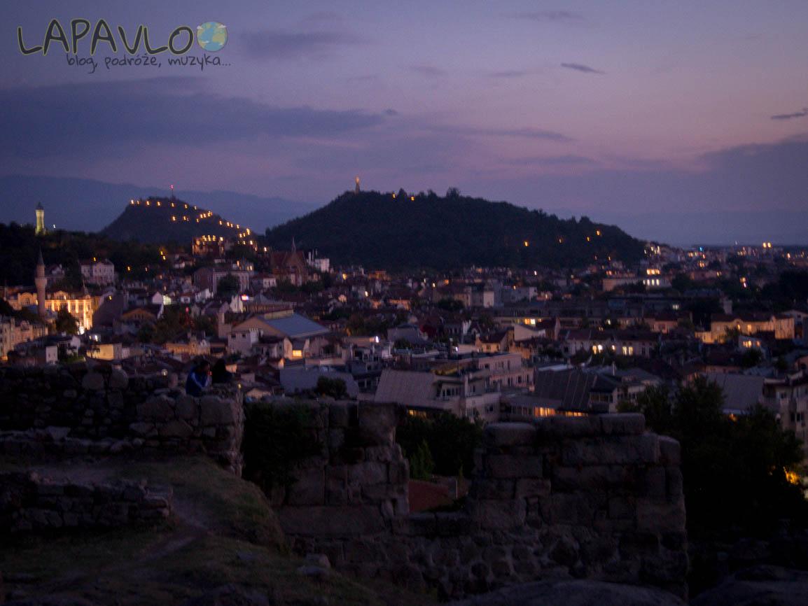 Bułgaria - Płowdiw - Widok z Nebet Tepe na Płowdiw