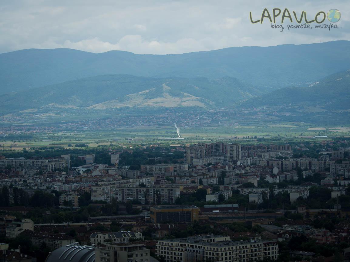 Bułgaria - Płowdiw - Widok z Góry Alyosha