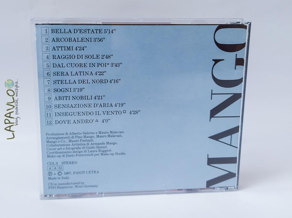 Mango - Adesso (1987)