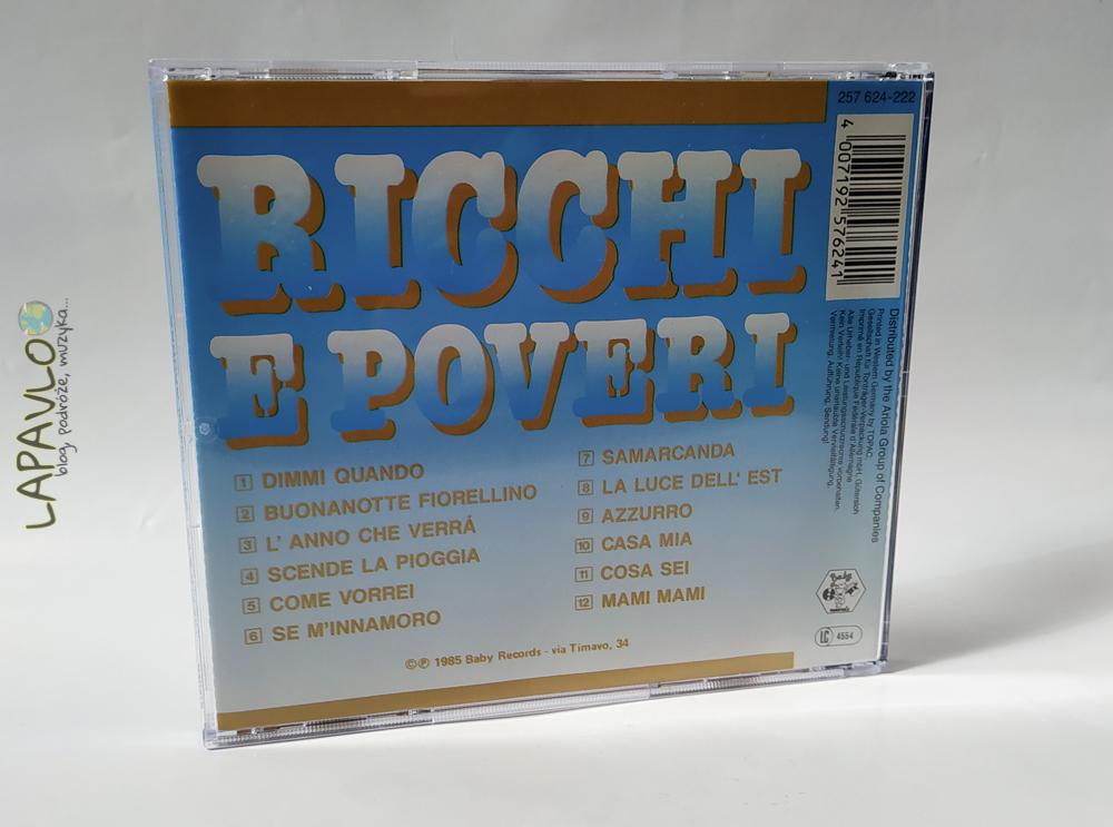 Ricchi E Poveri - Dimmi Quando - Album 1985