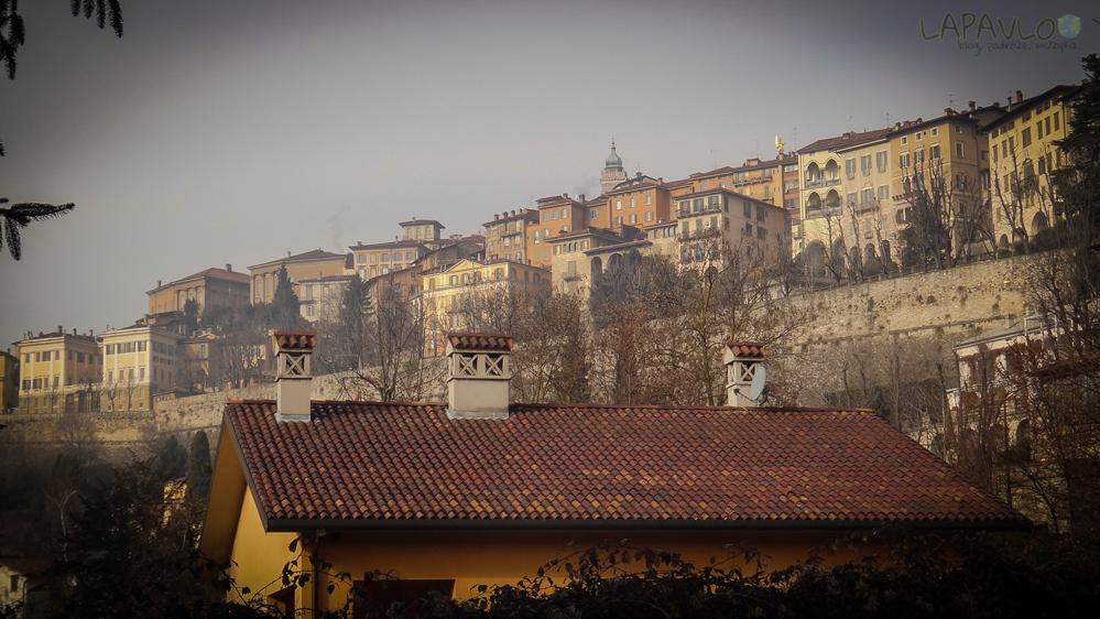 Włochy - Bergamo - Citta Alta
