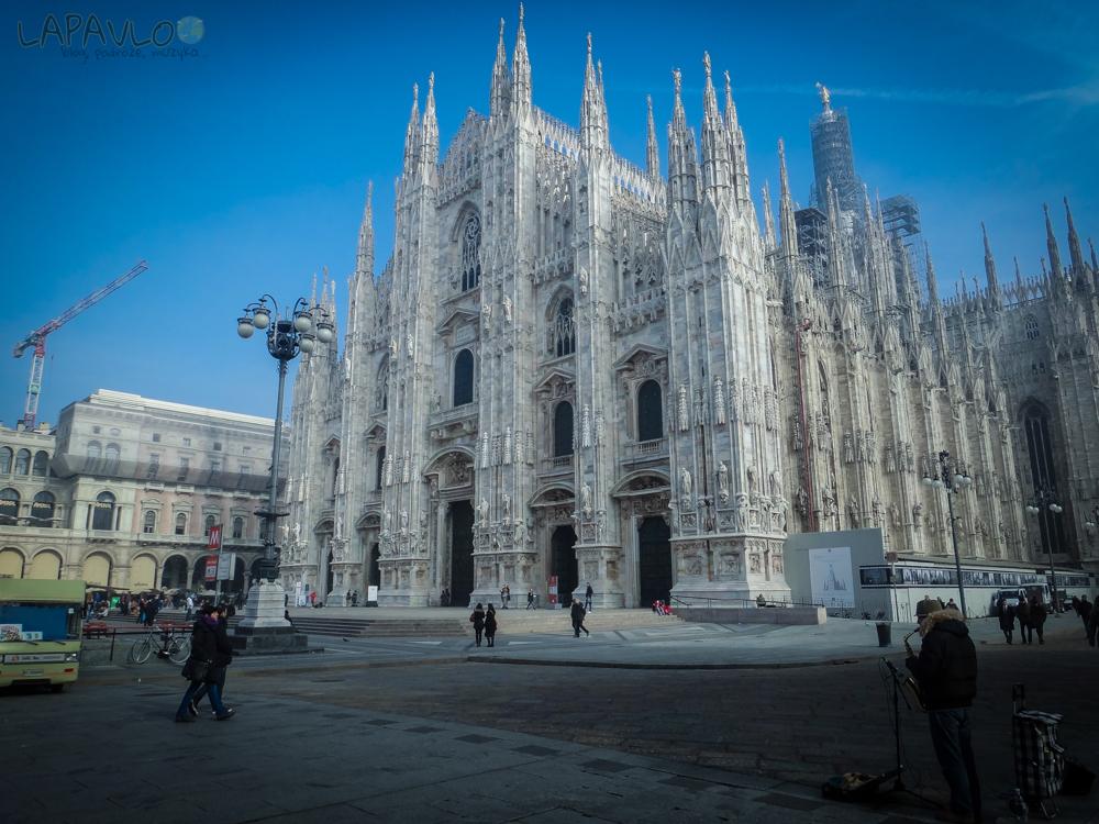 Włochy - Mediolan - Duomo
