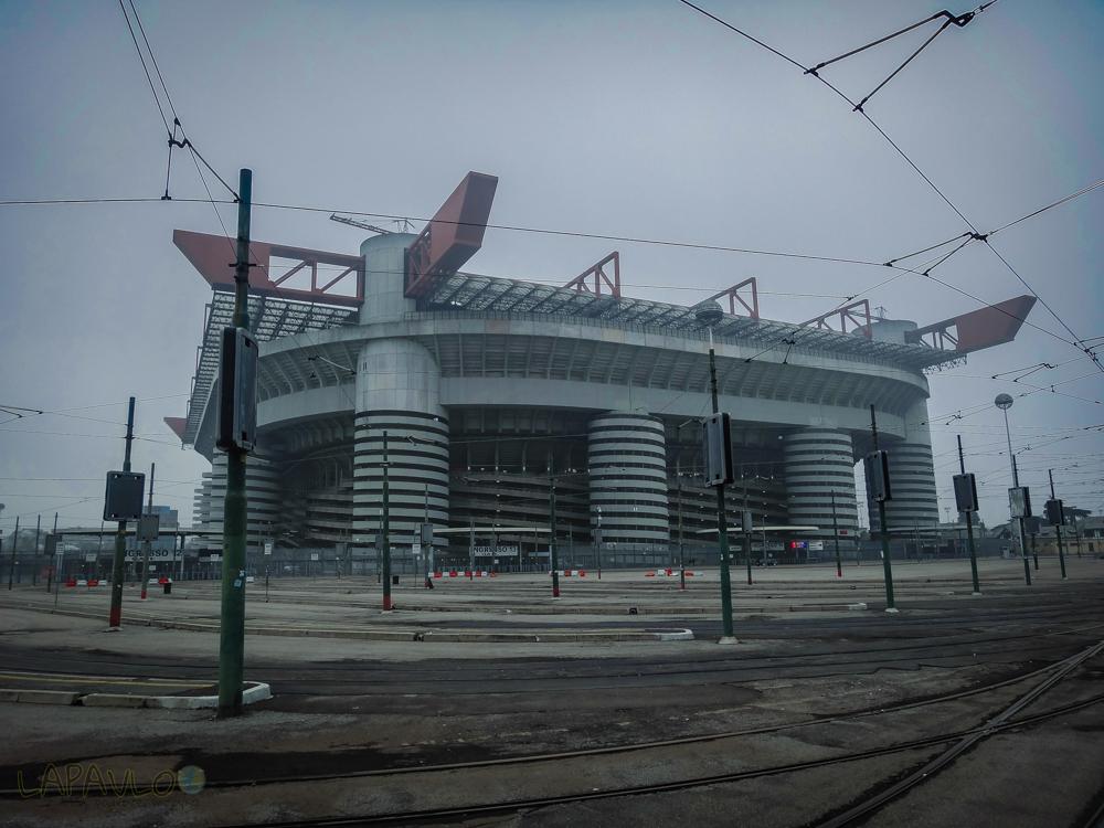 Włochy - Mediolan - San Siro Stadion
