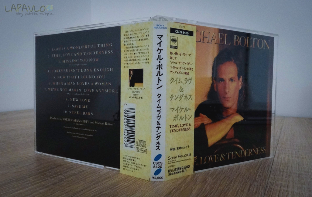 Michael Bolton - Time, Love & Tenderness