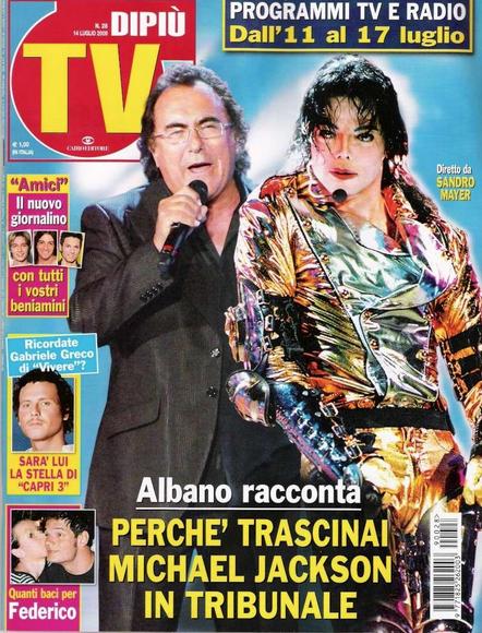 Michael Jackson vs Al Bano
