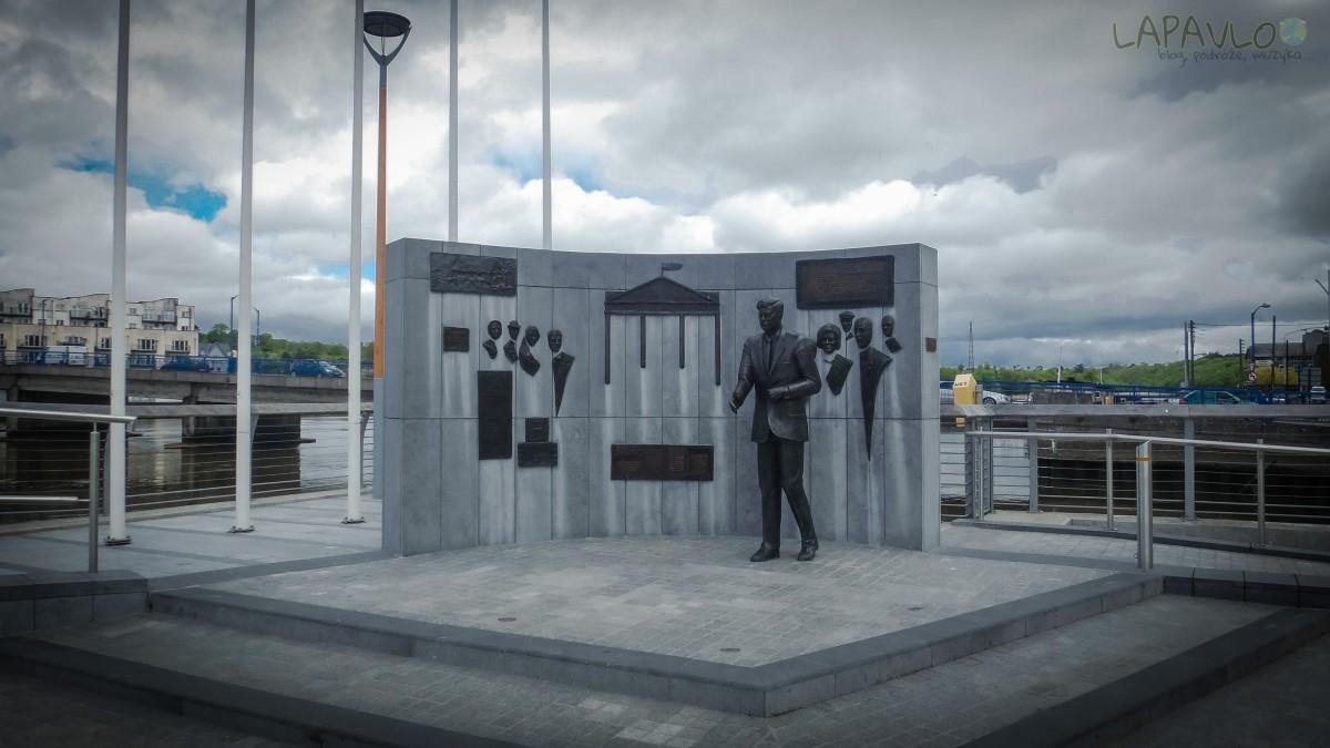Pomnik Johna F. Kennedy'iego - New Ross