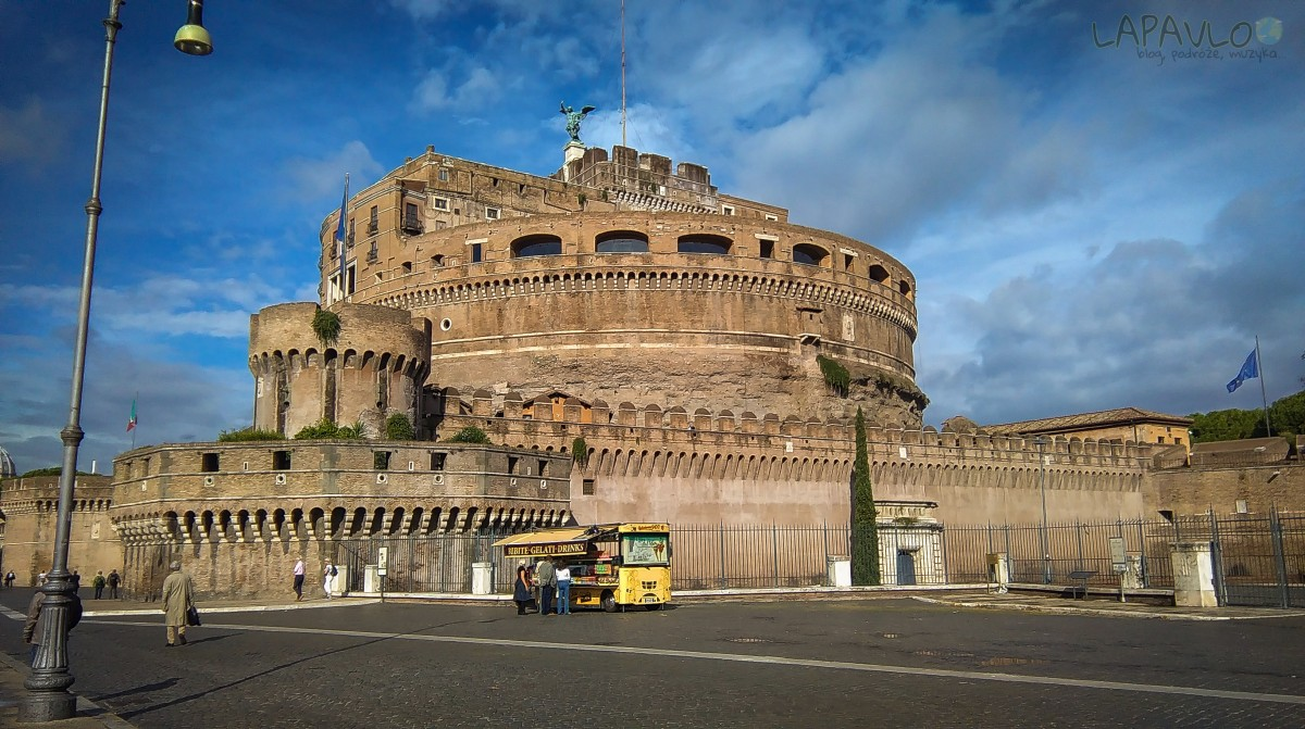 Zamek Świętego Anioła - Rzym