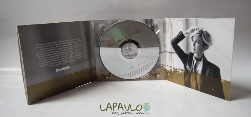 Anna Wyszkoni - Jestem Tu Nowa / Album CD / Recenzja