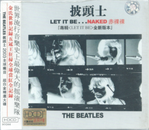 The Beatles - Let It Be - CD OBI China