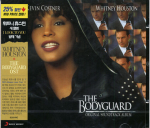 Whitney Houston - The Bodyguard - CD OBI Korea